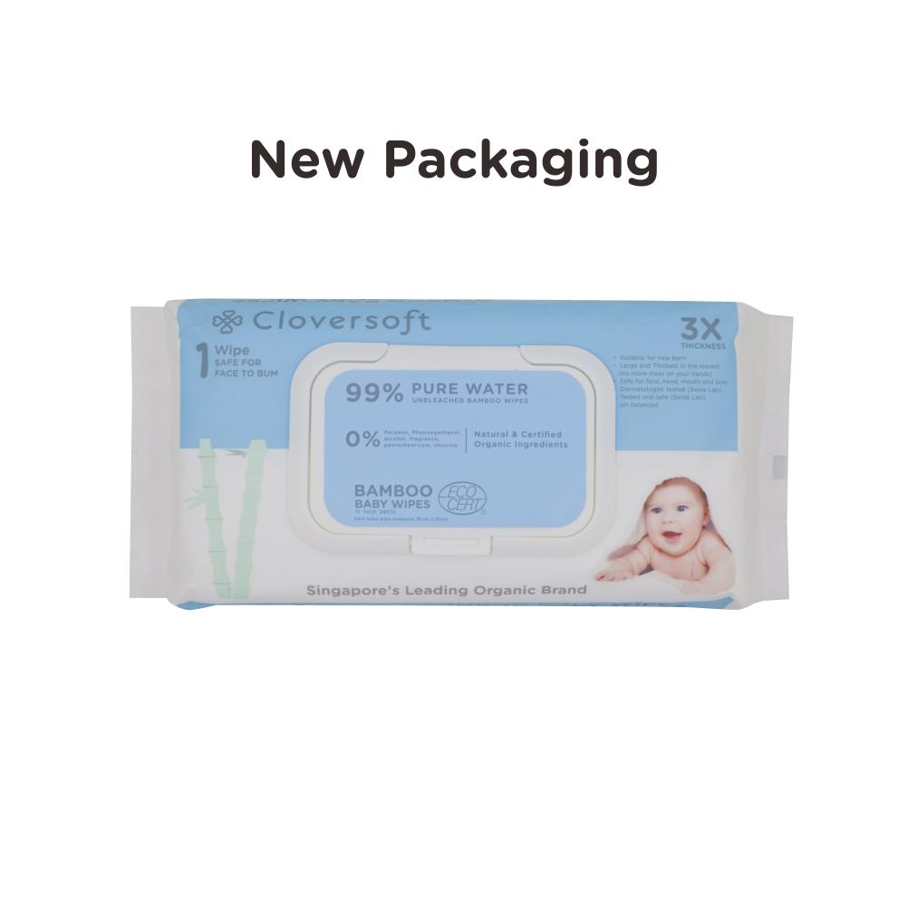 Supermom Baby Fair Pre Order 2 Cartons Of Organic Pure Water Wipes 3 X 70 Sheets 1 Carton Extra Moisturising